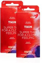 RFSU Thin 60 kpl Kondomeja Ohut