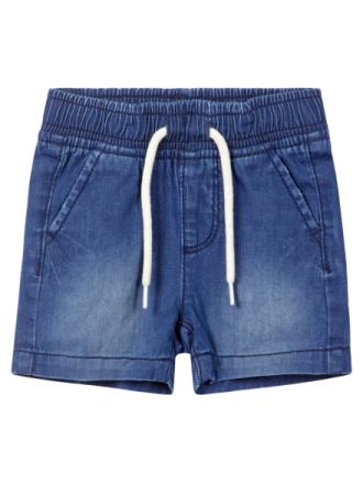 NAME IT Baby Soft Regular Fit Denim Shorts Men Blue
