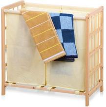 Tvättkorg Confortime Trä (59 X 33 x 60 cm)