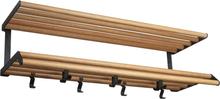 Tamburin hattuhylly 100 cm Tammi-musta