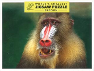 Världens Minsta Pussel - Babian (234 bitar)