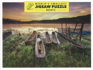 Världens Minsta Pussel - Båtar (234 bitar)