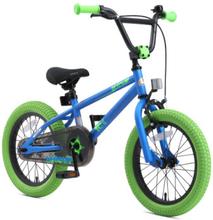 bikestar lasten pyörä 16 BMX sininen vihreä - monivärinen