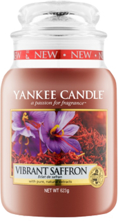 Yankee Candle Classic Large Jar Vibrant Saffron Candle 623 g