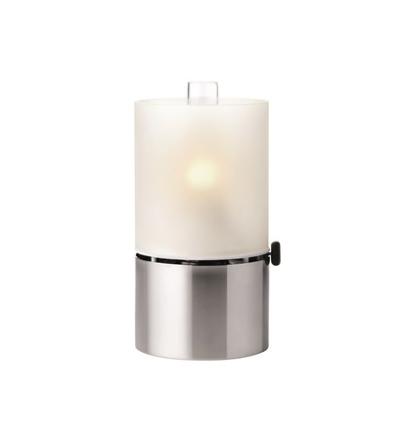 Stelton Oljelampe, frostet lampeglass