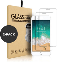 2 pk – Herdet glass til iPhone 6/7/8 Plus