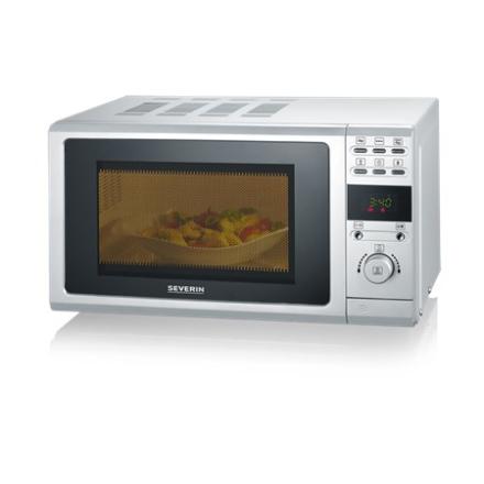Severin MW 7854 Mikro med Grill og LCD-Display Sølv