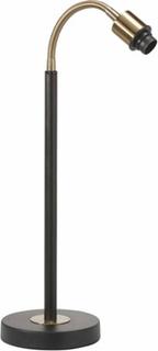 PR Home Cia Skrivbordslampe Sort/Messing 50cm PR Home