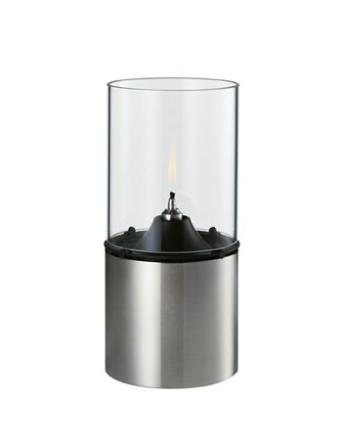 Stelton Oljelampe Klart lampeglass