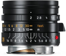 Leica Summicron-M 28 mm f/2,0 ASPH svart