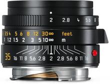 Leica Summicron-M 35 mm f/2,0 ASPH svart