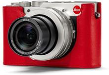 Leica Kameraskydd läder, röd till D-LUX 7
