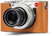 Leica Kameraskydd läder, brun till D-LUX 7
