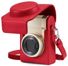Leica Läderväska Röd till C-LUX