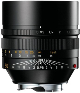 Leica Noctilux-M 50 mm f/0,95 ASPH svart