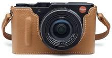 Leica Kameraskydd läder, cognac D-LUX (109)