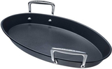 Le Creuset Aluminium oval fiskpanna 40x25 cm
