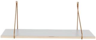 House Doctor Hylla Apart 70x24x1,5 cm - Grå