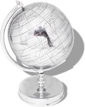 vidaXL Globus med stativ Aluminium Sølv 42 cm