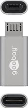 Goobay USB-Sovitin USB-C - MicroUSB