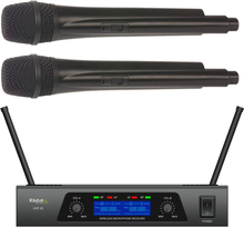 2x CHANNEL UHF MICROPHONE SYSTEM
