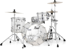 Pearl Crystal Beat Standard Drumset - Ultra Clear