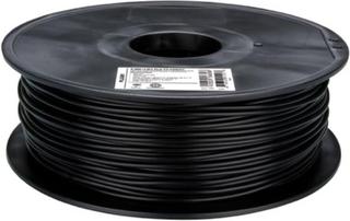 PLA-filament for 3D-skrivere 3 mm Svart