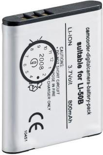 Kamerabatteri type Olympus Li-50B/Li-50D