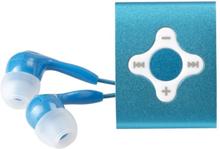 Roxcore Tiny MP3-spiller Blå