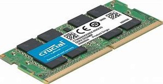 16GB CRUCIAL SO-DIMM DDR4 2666MHz, PC4-21300, CT16G4SFD8266