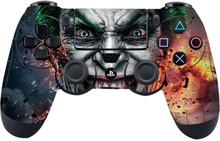 Sony PlayStation 4 - PS4 controller durable adhesive sticker - Maddening Eyes