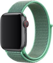 Apple Watch Series 4 44mm Nylon Klokkereim - Grønn