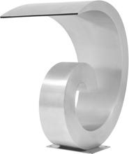 vidaXL Poolfontän rostfritt stål 50x30x53 cm silver
