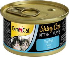 GimCat ShinyCat Jelly Kitten 6 x 70 g - Tun