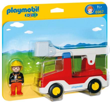 Playmobil 1.2.3, Brandbil