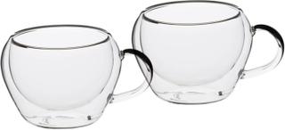 Le´Xpress Espressomuggar glas 2pack