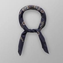 Eton Marinblå bandana med blom- och paisleymönster