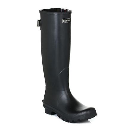 Barbour kvinners svart Jarrow Classic gummistøvler