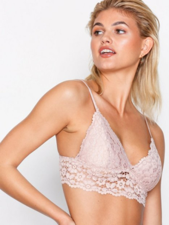Pieces Pcgeorgia Bra Top Lys rosa