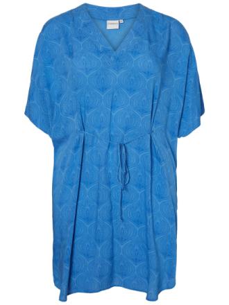 JUNAROSE Patterned Dress Women Blue
