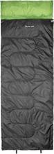 CAMPZ Surfer 400 Sleeping Bag anthracite/green Left Zipper 2020 Sovsäck