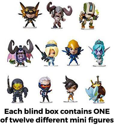 Cute but Deadly Mini Figures - Blizzard Series 2