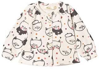 Soft Gallery June Cardigan Cream Melange Kittens 18 mån