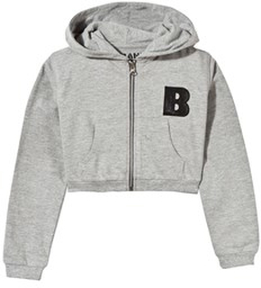 The BRAND Short Hoodie Grey 92/98 cm