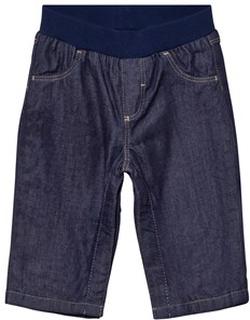 Petit Bateau Lined Blue Jeans 6 mån