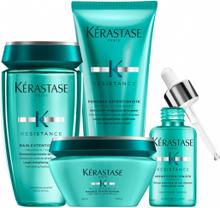 Kérastase Resistance Extentioniste Collection Shampoo + Balsam + Mask + Serum