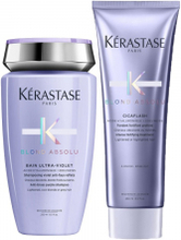 Kérastase Blond Absolu Duo Bain Ultra-Violet + Cicaflash