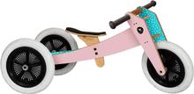 Wishbone balanscykel 3-i-1 - rosa