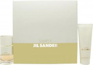 Jil Sander Simply Presentset 40ml EDT + 75ml Body Milk