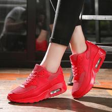 2019 Women Sneakers Summer Breathable Mesh Brand Shoes for Woman Black Green Red Tenis Feminino Ladies Shoe Basket Femme
